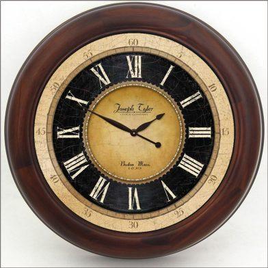 Augustus Clock brn frm