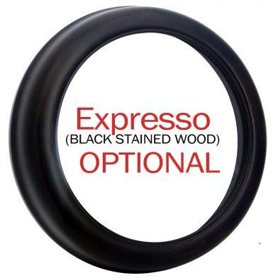 00 Side of Expresso Black Frame