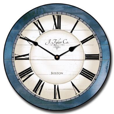 Carolina Blue Clock