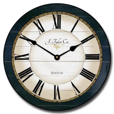 Carolina Navy Clock
