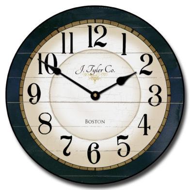 Carolina Navy Clock r