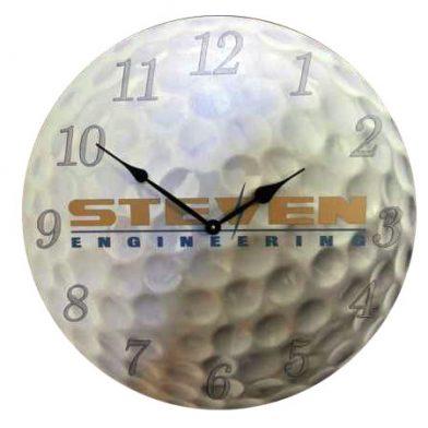 Steven clock, Golf clock, logo