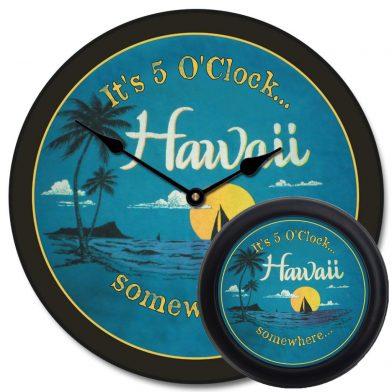 Hawaii Beach Clock mix