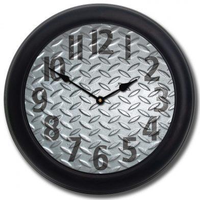 Heavy Metal 4 Clock blk frm 1