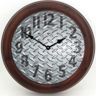 Heavy Metal 4 Clock brn frm 1