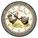 Hickmans Rooster Clock