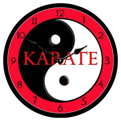 Karate Clock