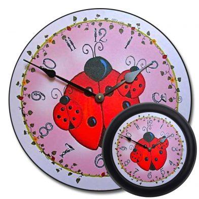 Lady Bug Clock mix
