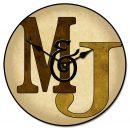Monogram Clock Brown