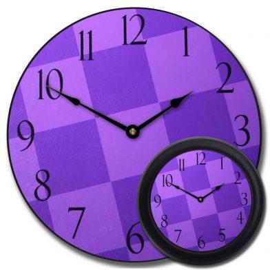 Purple Check Clock mix