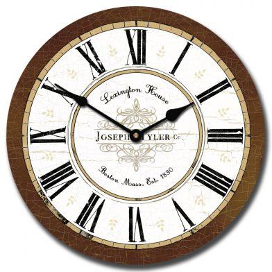 Vermont Brown Clock
