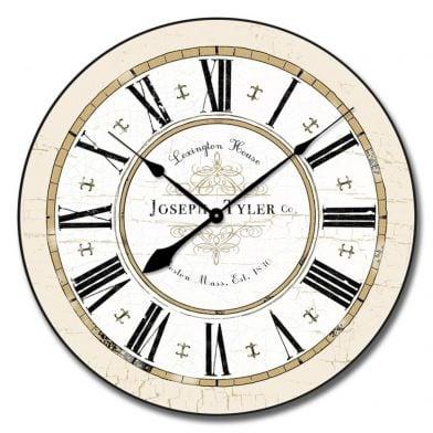 Vermont White Clock