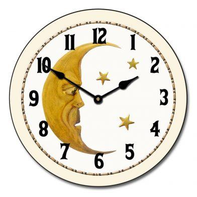 Vintage Moon Clock