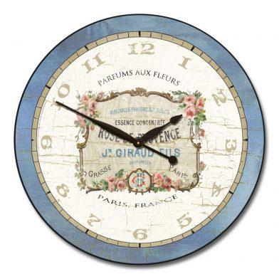 Vintage Perfume Clock
