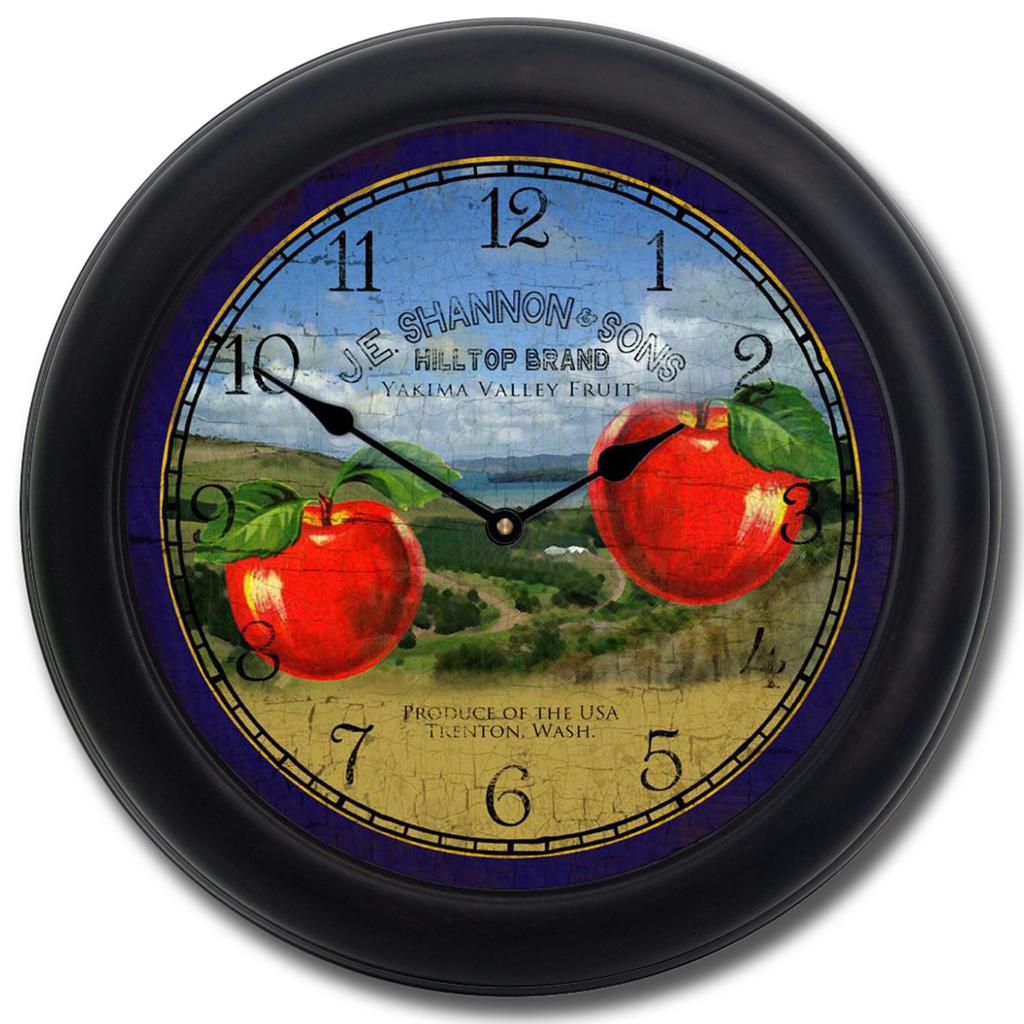 Washington Apple Clock The Big Clock Store