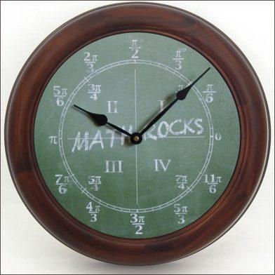 Math Clock brn frm