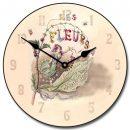 Vintage Fairy Clock