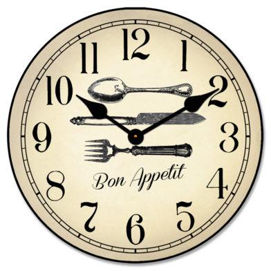 Bon Appetit Clock