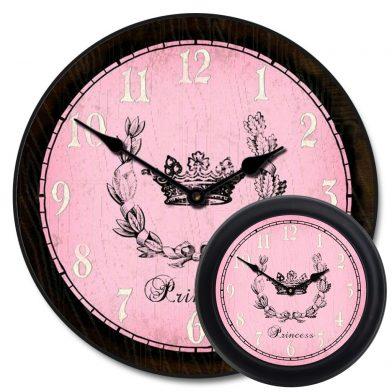 Pink Princess Clock mix
