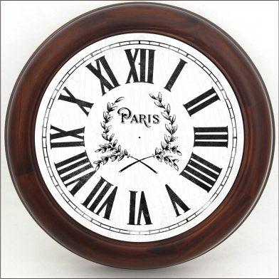 Simply Paris Clock brn frm