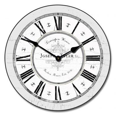Vermont Gray Clock