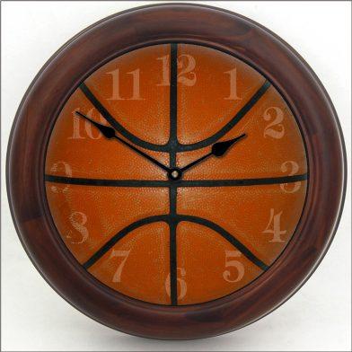 Basketball Clock brn frm