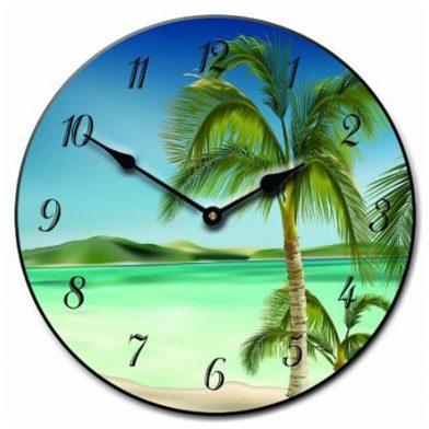 Beach 2 Clock