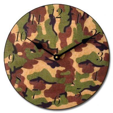 Camo 2 Clock