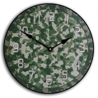 Camo 3 Clock