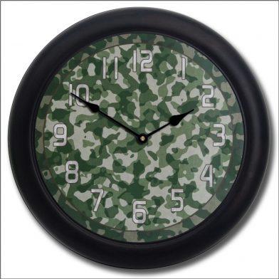 Camo 3 Clock blk frm