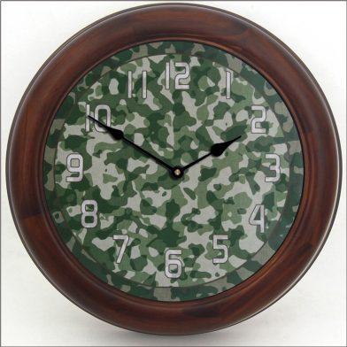 Camo 3 Clock brn frm