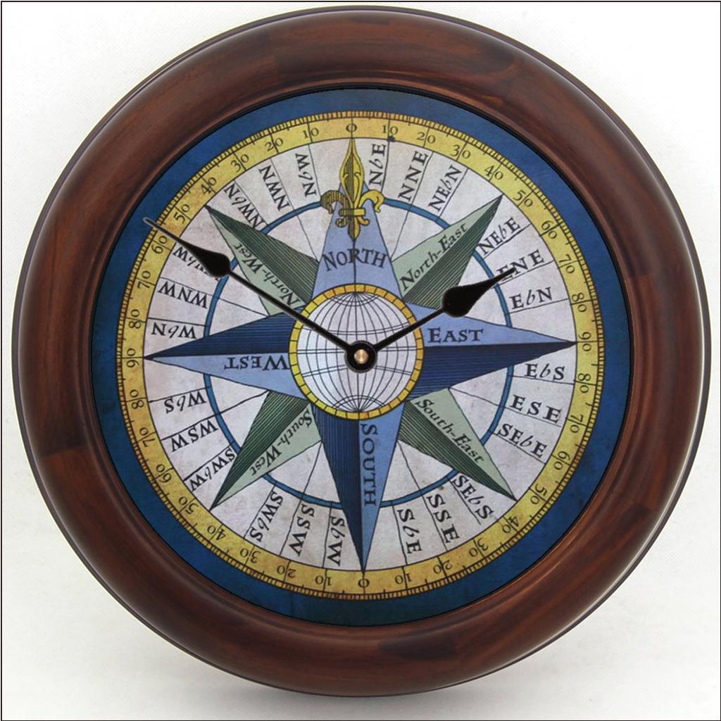 Compass Clock The Big Clock Store
