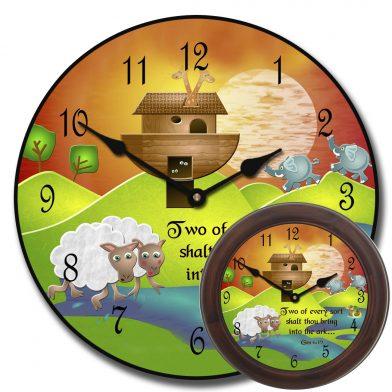 Noah's Ark Clock mix