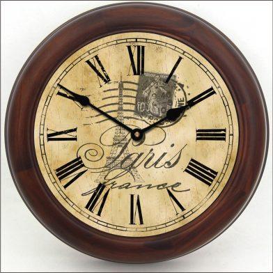 Paris Clock brn frm