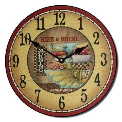 Rise & Shine Clock