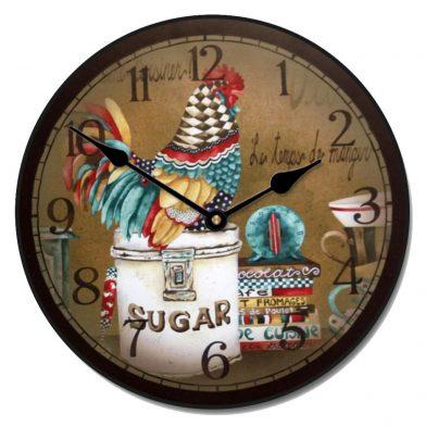 Sweet Hen Clock