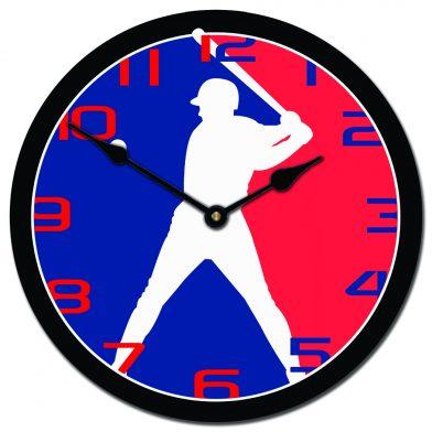 Baseball 3 Clock