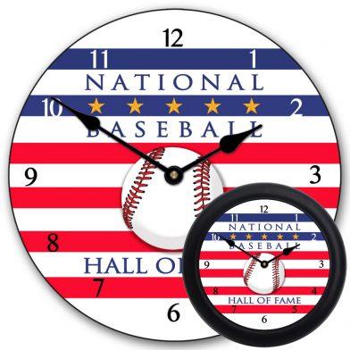Baseball Hall of Fame Clock mix