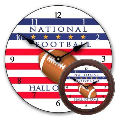 Football Hall of Fame Clock mix