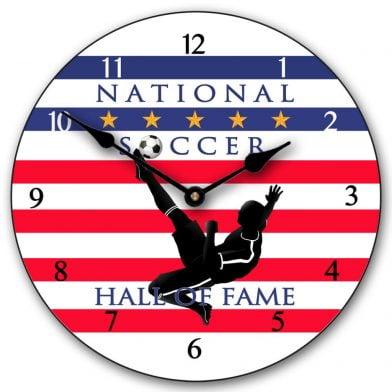 Soccer Hall of Fame 2 Clock