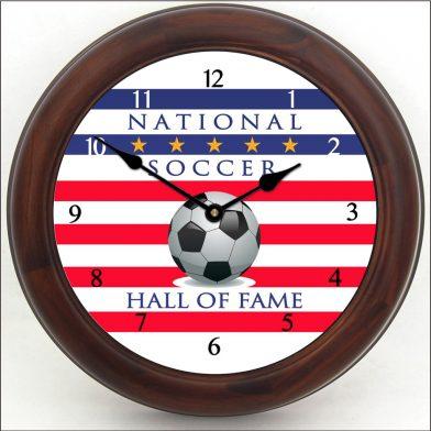 Soccer Hall of Fame Clock brn frm