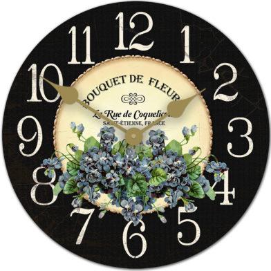 Violets clock new