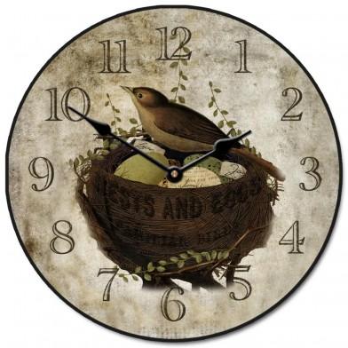 Nest & Eggs Clock