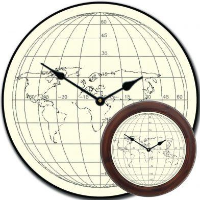 Streamline Map Clock mix