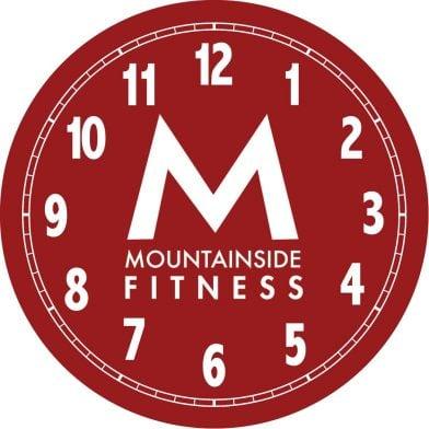 Logo clock for gym