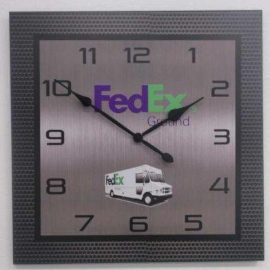 FEDEX Clock Heavy metal