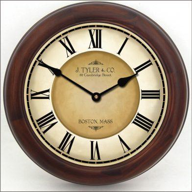 Galway Black Clock brn frm