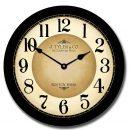 Galway Black arabic Clock
