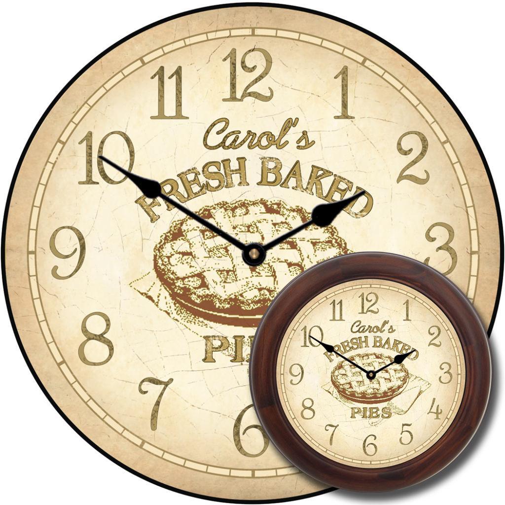 Pie Kitchen Clock The Big Clock Store