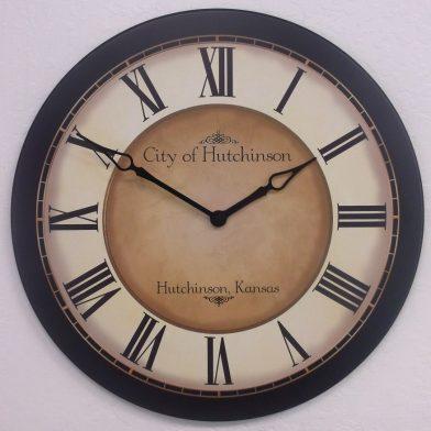 galway black clock